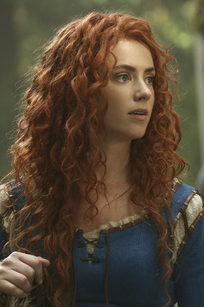 Amy Manson As Merida Once Upon A Time Season 5 Episode 1