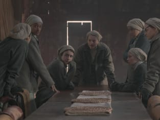 June and the handmaids making plans - The Handmaid's Tale Season 4 Episode 2