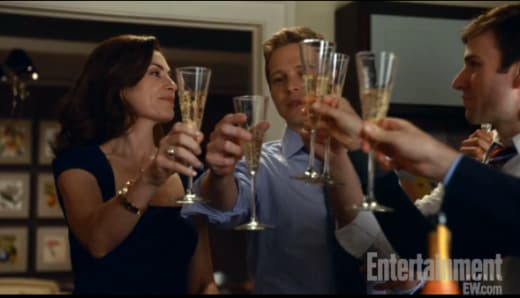 Cheers to Florrick, Agos and Associates