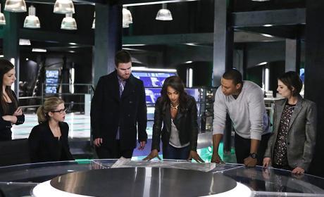 Planning - Arrow Season 4 Episode 15