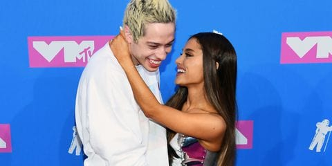 Pink Carpet Couple Debut: Ariana Grande & Pete Davidson