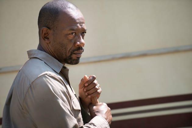 Suspicious Morgan - The Walking Dead Season 6 Episode 1
