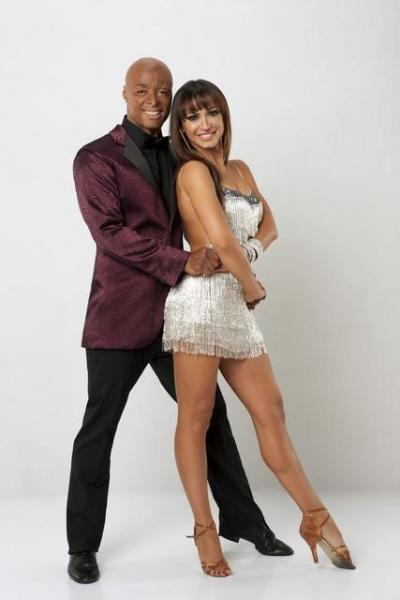 J.R. Martinez and Karina Smirnoff Pic