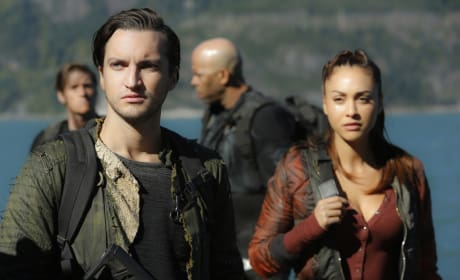 Murphy and Raven - The 100 Season 4 Episode 4