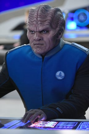 Bortus At His Station The Orville S E