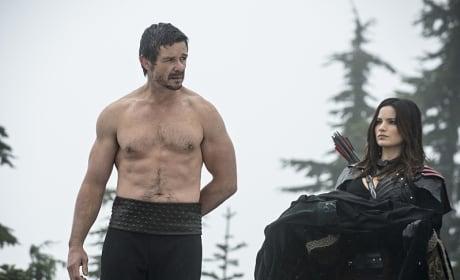 Put Your Shirt On - Arrow Season 3 Episode 9