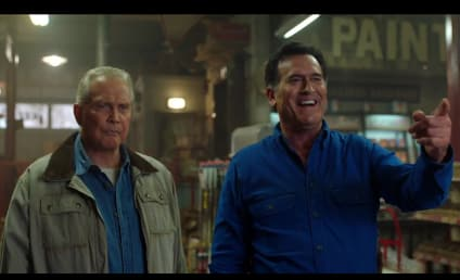 Ash vs Evil Dead Sneak Peek: Brock Screwed Ash Good!