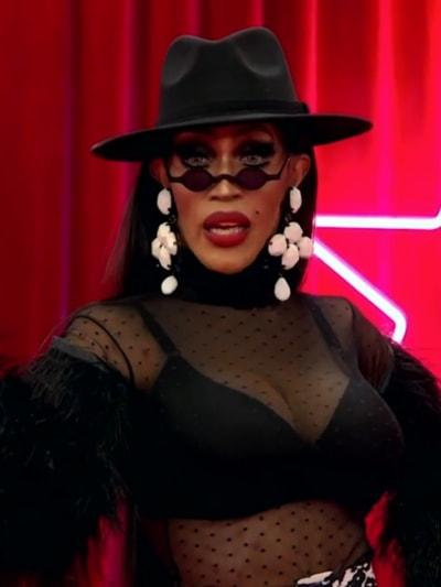 Trinity K. Bonet Werk Room Entrance - RuPaul's Drag Race All Stars Season 6 Episode 1