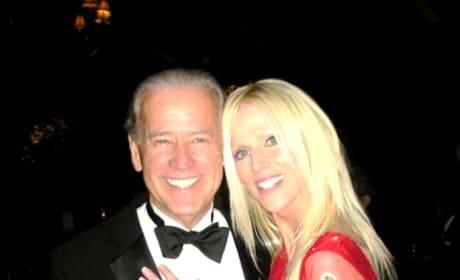 Michaele Salahi and Joe Biden
