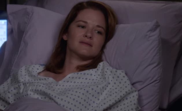 April in Bed - Grey's Anatomy Season 13 Episode 1
