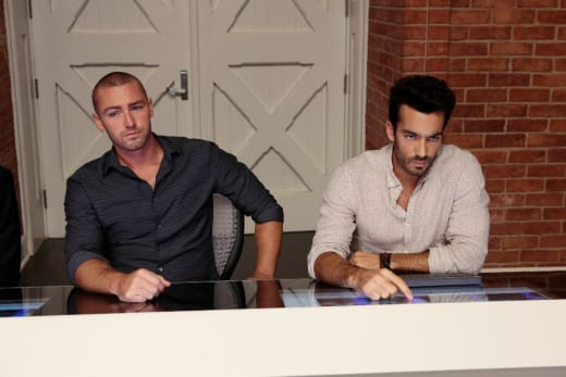 Ryan and Leon - Quantico Season 2 Episode 1