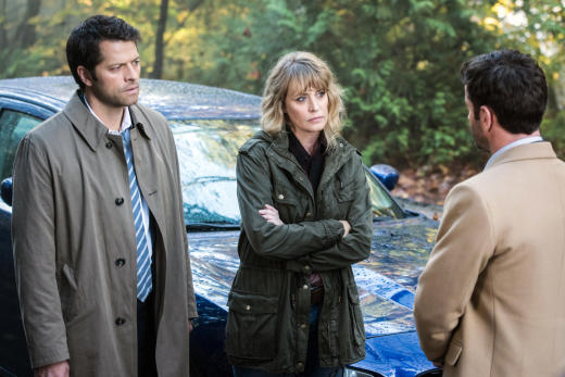 Mary is unimpressed - Supernatural Season 12 Episode 9