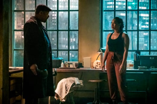 Joe Worries About Iris - The Flash Season 5 Episode 15