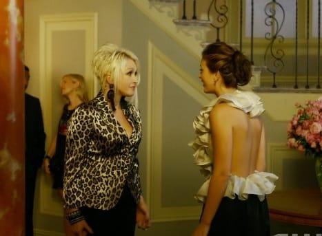 Blair and Cyndi Lauper