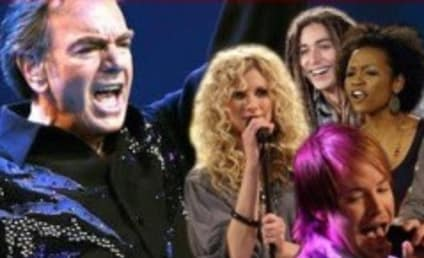 Live Blogging American Idol, Neil Diamond Week