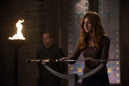 Before The Sword - Shadowhunters