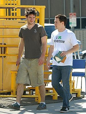 T.R. Knight and Luke MacFarlane