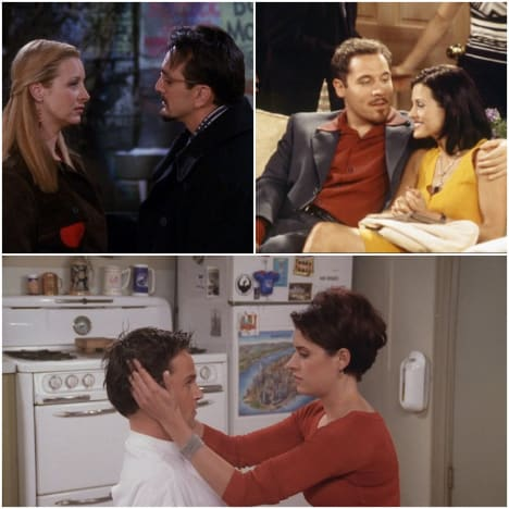Friends Noteworthy Non-Endgame Couples Collage