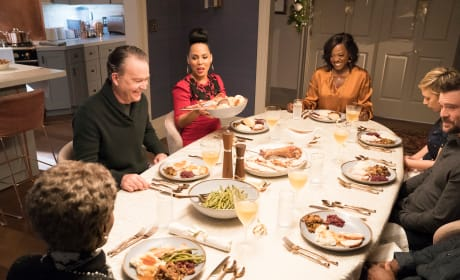 Dinner Time - How To Get Away With Murder Season 5 Episode 13