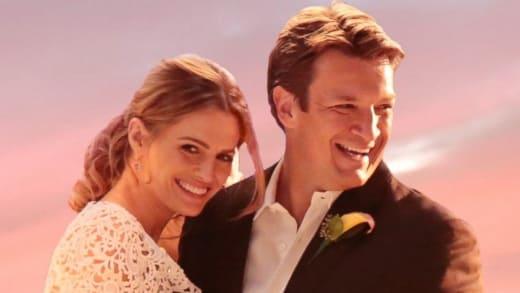 Caskett Wedding Photo - Castle Season 7 Episode 6