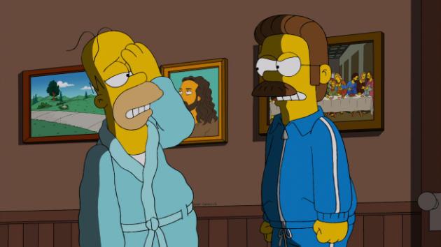 Homer's Black Eye
