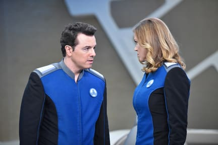 Nose to Nose - The Orville Season 1 Episode 5