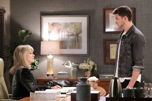 Marlena is Horrified - Days of Our Lives