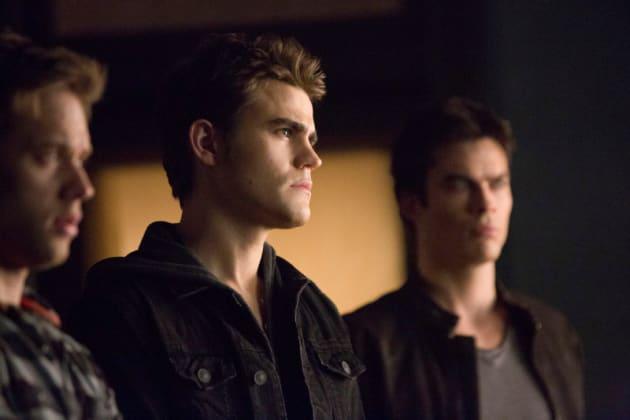 Stefan, Aaron and Damon