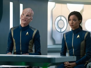 Saru and Burnham - Star Trek: Discovery