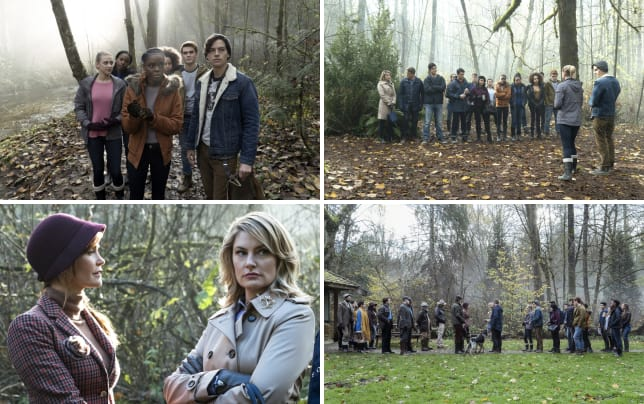 Hiding in the woods riverdale s1e7