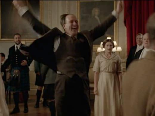 Dancing Molesley  - Downton Abbey