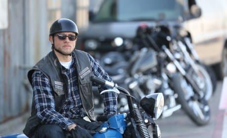 Jax Teller on his Bike - Sons of Anarchy Season 7 Episode 13