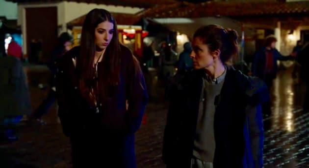 UR_303 Madison outs Quinn to Rachel: She needs rehab! - UnREAL Season 3 Episode 3