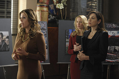 Rita Wilson on The Good Wife