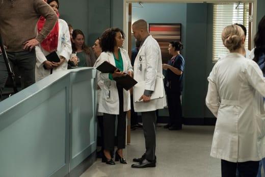 Wishing Jackson Luck - Grey's Anatomy Season 14 Episode 20