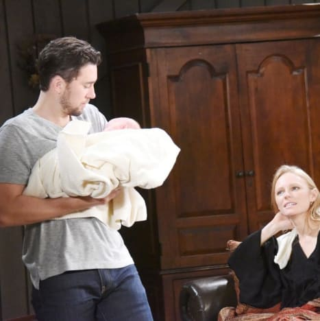 (TALL) A New Baby Daddy - Days of Our Lives