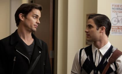 Matt Bomer on Glee: First Look!