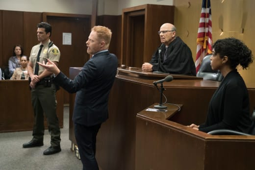Mitch in the Courtroom - Modern Family Season 10 Episode 2