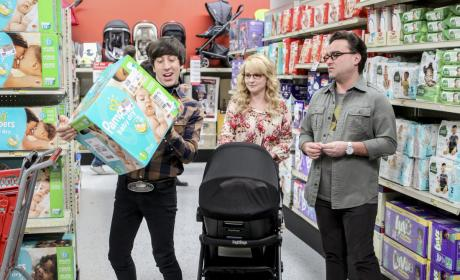 Diaper Shopping - The Big Bang Theory Season 10 Episode 19