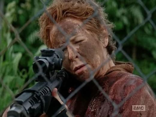 Carol shoots