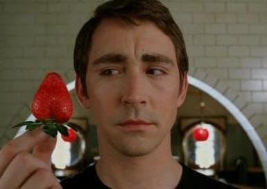 Ned and... a Strawberry