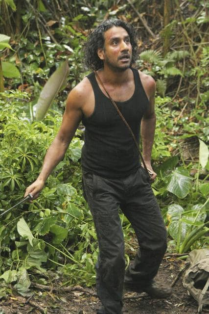 Scared Sayid
