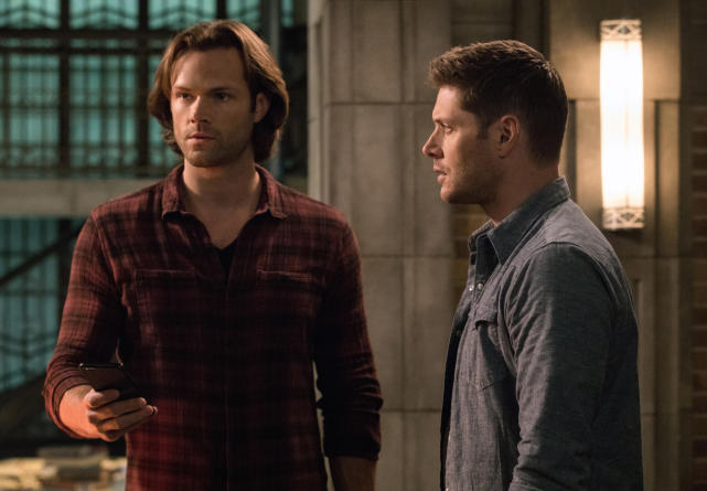 Sam and Dean take a phone call - Supernatural Season 12 Episode 23