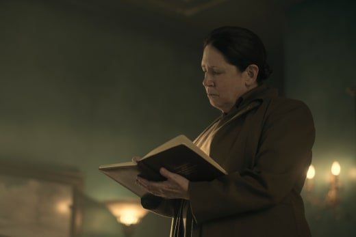 Aunt Lydia Checks In - The Handmaid's Tale