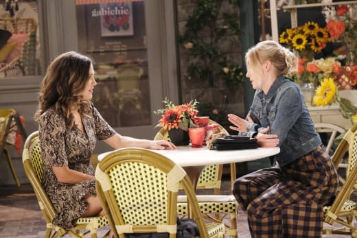 Claire Says Her Piece - Days of Our Lives