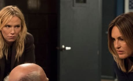 (TALL) Benson Interrogates a Suspect - Law & Order: SVU Season 20 Episode 10