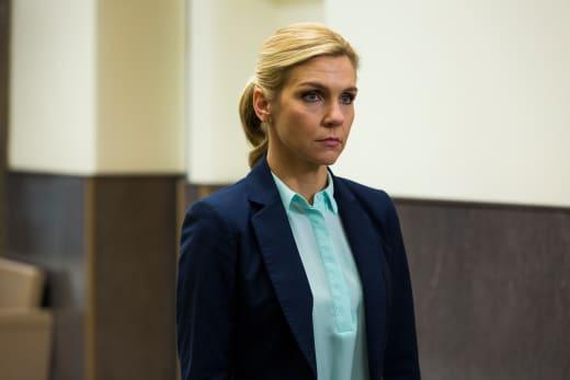 Kim at Jimmy's Hearing - Better Call Saul Season 3 Episode 4