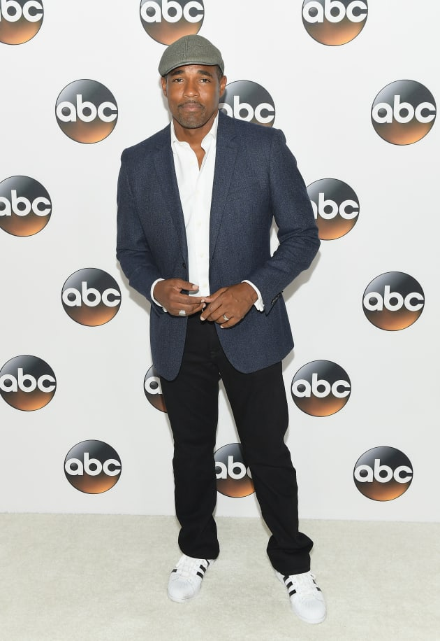 Jason George Attends TCA