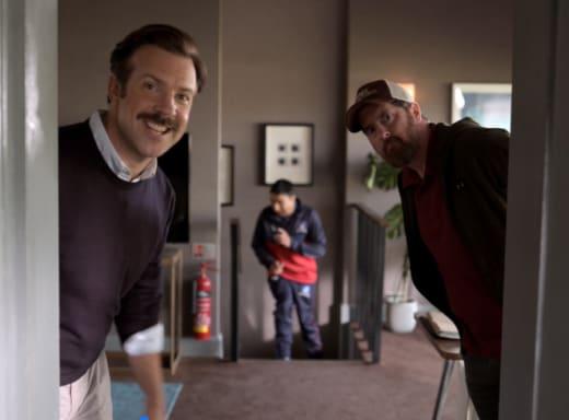 Nate Runs - Ted Lasso Season 1 Episode 1