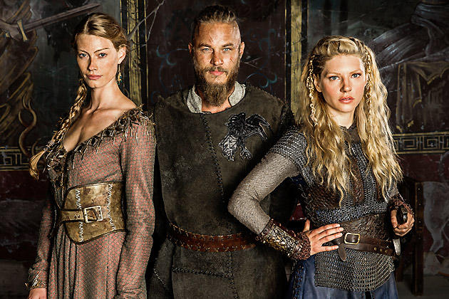 Ragnar and his Wives, Aslaug and Lagertha